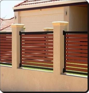 Diseño de la cerca minimalista captura de pantalla 3