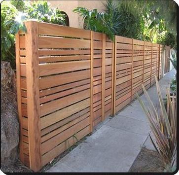 Diseño de la cerca minimalista captura de pantalla 4
