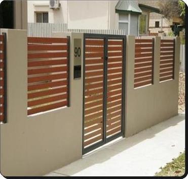 Diseño de la cerca minimalista captura de pantalla 5
