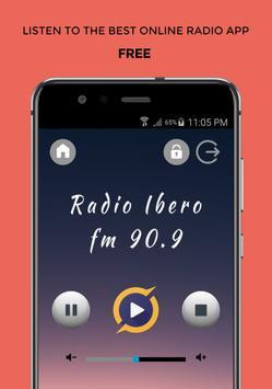 Ibero FM 90.9 Radio App Mexico Gratis En Línea poster
