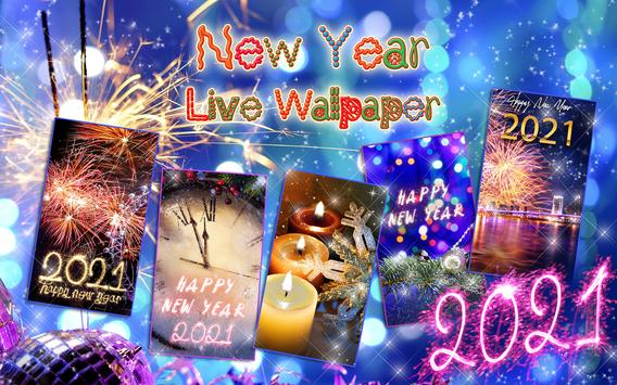 Happy New Year Wallpaper 2021 – Holiday Background screenshot 8