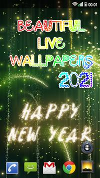 Happy New Year Wallpaper 2021 – Holiday Background screenshot 3