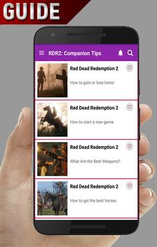 Guide for RDR2, Companion Tips screenshot 3
