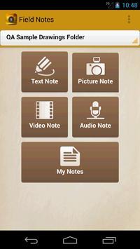 Field Notes screenshot 2