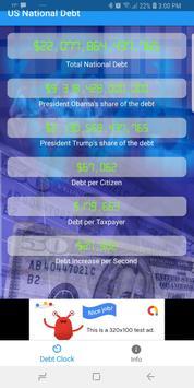 US Debt poster