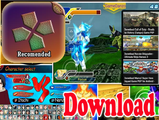 Database Psp Pro Emulator And Game Iso Colection For Android Apk