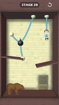 Rescue The Boy - Unique Rope Puzzle screenshot 1