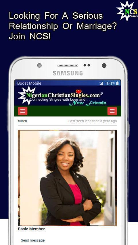 Nigerian Christian Mingles: Tämä sivusto on ollut jo jonkin aikaa.