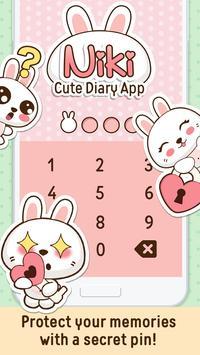 Niki: Cute Diary App screenshot 6