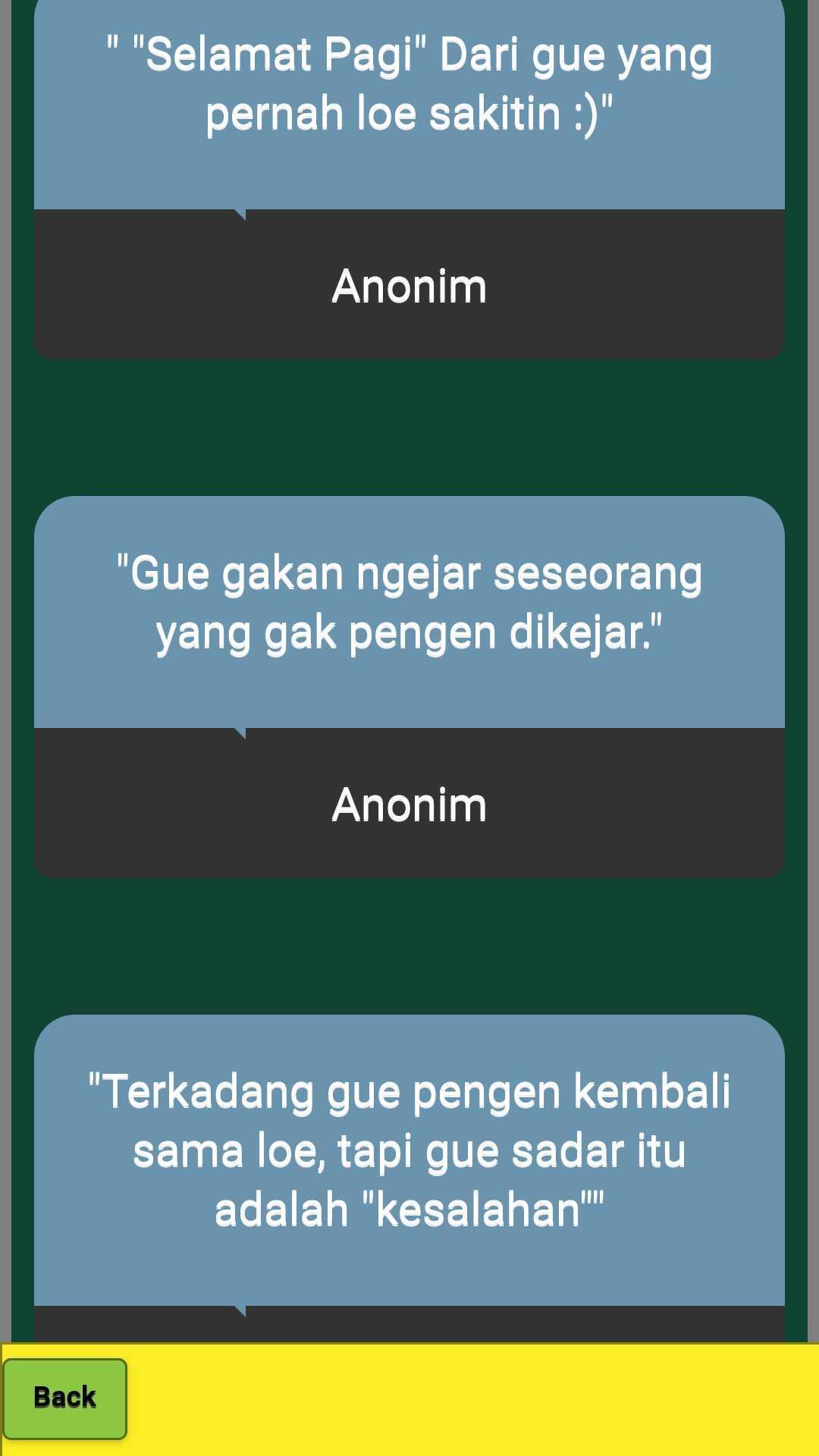 Kata Sindiran Buat Mantan Pacar Sombong For Android Apk
