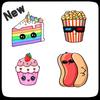 jak rysować jedzenie ikona