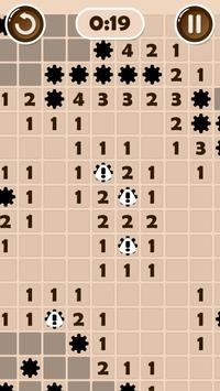 Puzzle game: Real Minesweeper screenshot 5