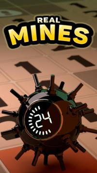 Puzzle game: Real Minesweeper poster
