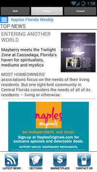 Florida Weekly screenshot 1
