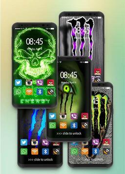 Wallpaper For Monster's Energy HD poster