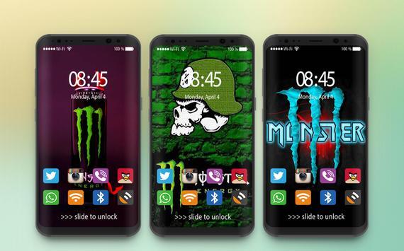 Wallpaper For Monster's Energy HD screenshot 1