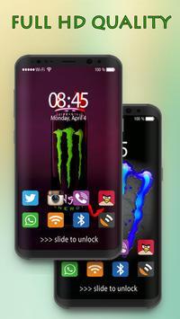 Wallpaper For Monster's Energy HD screenshot 2