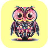 CUTE OWL WALLPAPERS icon