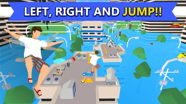 MAD RUNNER : parkour, funny, hard! screenshot 16