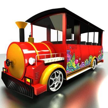Odong Odong Train Design poster