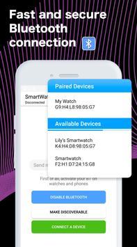 SmartWatch Sync captura de pantalla 4