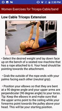Top Workout Exercises for Men and Women screenshot 3