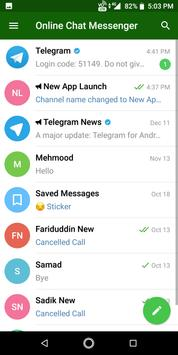 Free Online Chat Messenger, Chat With Your Friends screenshot 2