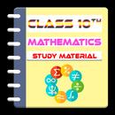 Class 10 Mathematics Study Materials Notes 2018-19 APK