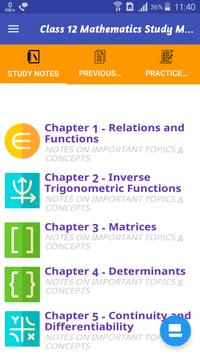 Class 12 Mathematics Study Materials & Notes 2019 Plakat