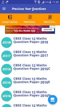 Class 12 Mathematics Study Materials & Notes 2019 Screenshot 2