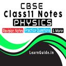 Class 11 Physics Study Materials & Notes 2019 APK