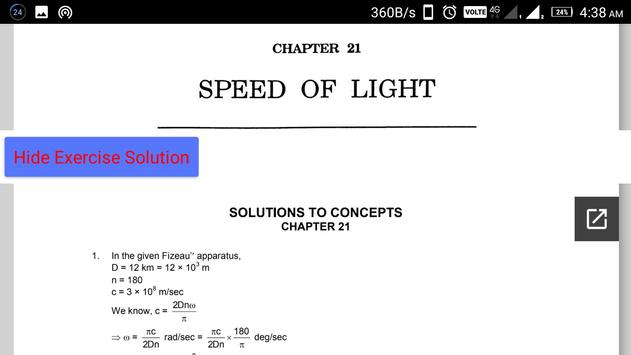 HC Verma Vol.1 - Complete Book With Solution capture d'écran 7