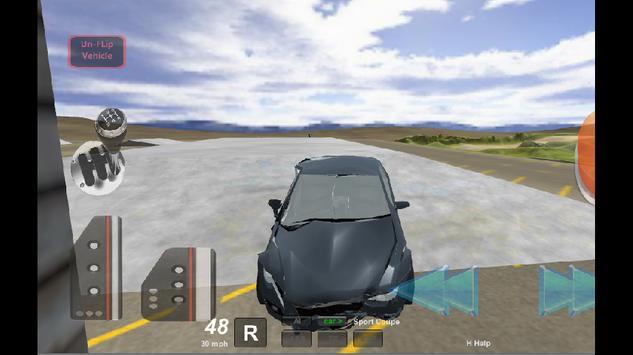 Stunt Car Driving 3D poster