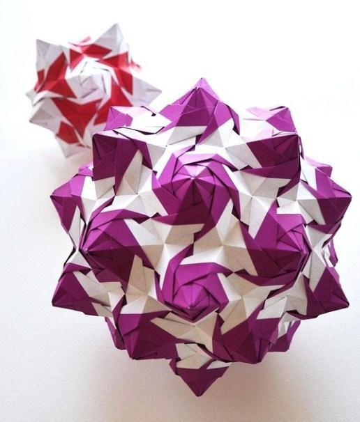 How to Make 3D Origami Units | 606x516