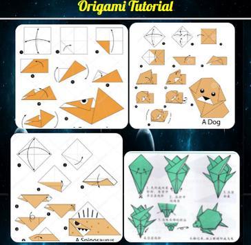 Origami Tutorial screenshot 1