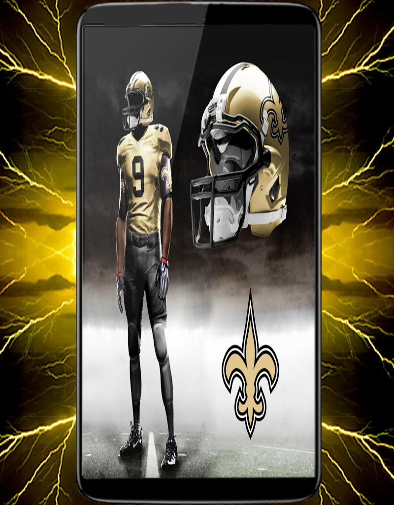 Wallpaper New Orleans Saints Team For Android Apk Download