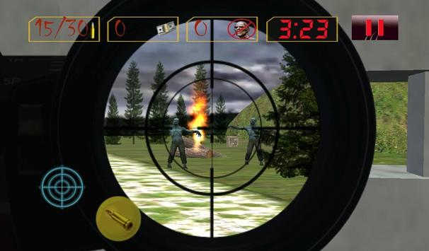 Sniper Zombies Shoot Off.SOS Z screenshot 10
