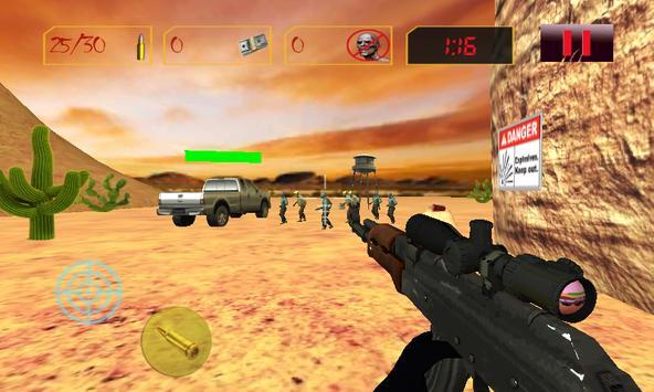 Sniper Zombies Shoot Off.SOS Z screenshot 5