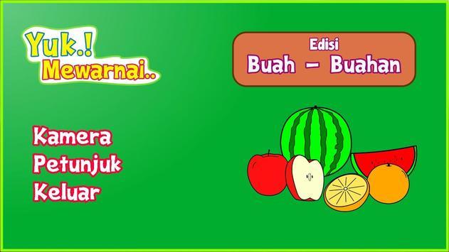 Yuk Mewarnai Buah poster