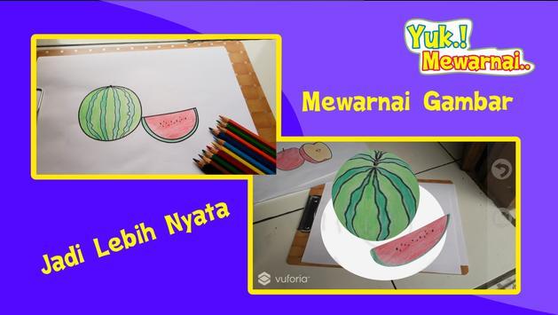 Yuk Mewarnai Buah screenshot 2