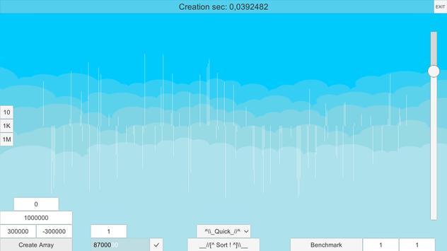 Sorting Project screenshot 2