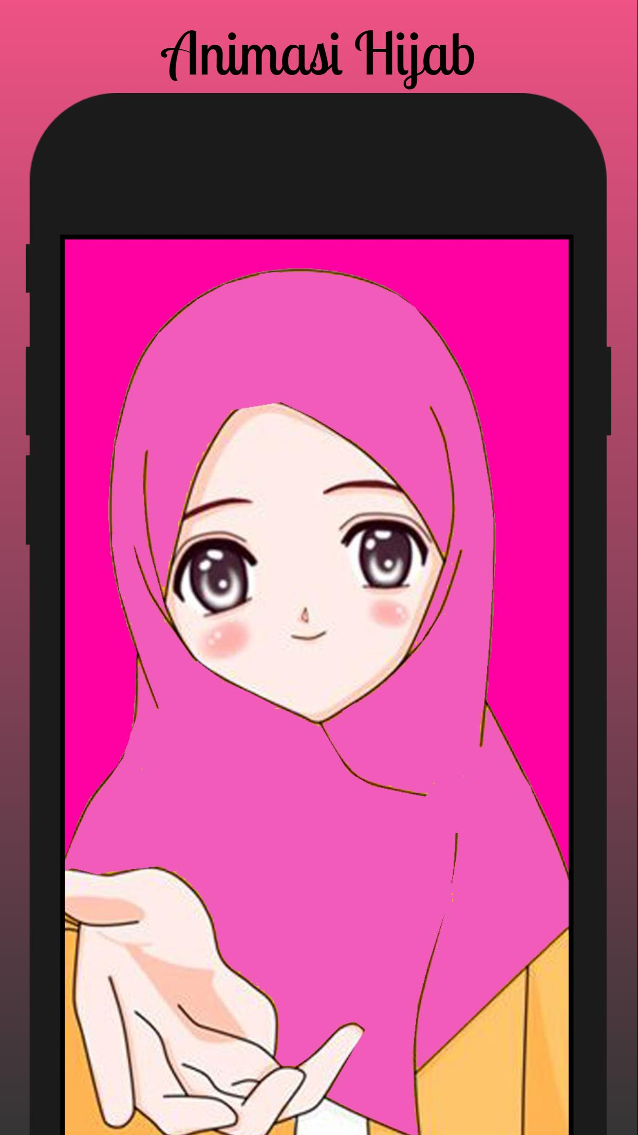 Animasi Hijab Wallpaper For Android APK Download