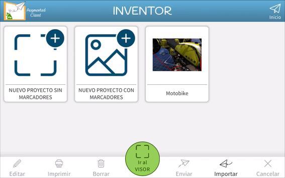 AugmentedClass! Realidad Aumentada para Educación syot layar 4