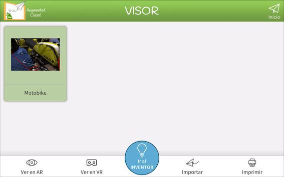 AugmentedClass! Realidad Aumentada para Educación syot layar 5