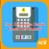 Cek Token Listrik Gratis PLN Subsidi icon