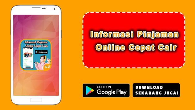 Informasi Pinjaman Online Cepat Cair poster