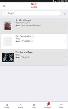 Car, Motorcycle, or Fleet Maintenance & Gas Log screenshot 14