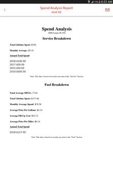 Car, Motorcycle, or Fleet Maintenance & Gas Log screenshot 20