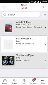 Car, Motorcycle, or Fleet Maintenance & Gas Log screenshot 5