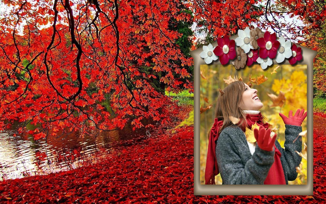 коллаж на тему осень картинки обратный